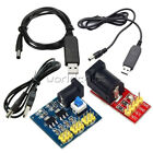 USB 2.1x5.5mm Male Connector Plus DC 5V to DC 9V/12V Step up Module Converter