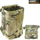 FOLDING AMMO DUMP POUCH EMPTY MAG BAG AIRSOFT MAGAZINE SHOOTING HUNTING WEBBING