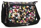 Big Handbag Shop Unisex Zip Pockets Cartoon Lightweight Large Messenger Bag