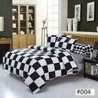 Black & White NEW Single Queen King Sizes Bed Quilt/Duvet Cover Bed Set Comfy