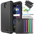 Armor Shockproof PC Hybrid Rugged Rubber Hard Case Cover For ZTE Grand X3 / Z959