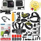 GoPro HERO 4 Black Edition + 40 Pcs Extreme Accessories Complete Kit Bundle!