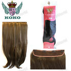 """KOKO Synthetic 24"""" Straight One Piece Clip in Extension Weft #G05B"""