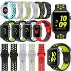 New Replacement Silicone Band Sports Bracelet Strap For Apple Watch Series 2 /1