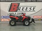 2005 POLARIS SPORTSMAN 400 RED W PLOW 4X4 LOCATED IN BREESE IL LOOK NO RESERVE