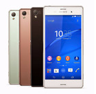 "4 Colors! 5.2"" Sony Ericsson Xperia Z3 D6603 16GB 3GB RAM Unlocked 4G Cellphone"