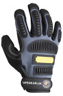 LifeGear Safety TPR Impact Resistant Hand Protection Work Gloves 89/686/CEE