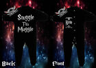 HARRY POTTER Baby Playsuit Bodysuit SleepSuit SNUGGLE THIS MUGGLE(ADD A NAME)