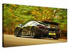 Black Mclaren P1 Gallery Giclee Canvas Wall Art +More sizes