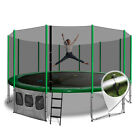 16ft Round Summit Trampoline - Green - Free Delivery