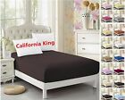 Cal-King Fitted Sheet- 1pc, Ultra Soft Microfiber, Wrinkle Free ,Hypoallergenic  image