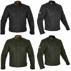 Oxford Hardy Wax Motorbike Motorcycle Jacket Water Repellent Black Touring