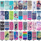 Pattern Soft TPU back Stand Wallet Leather Skins Case Cover For Samsung Galaxy