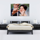 Your Wedding Pictures on canvas - Gallery Grade Canvas Wall Art + sizes!