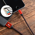 Strong Braided USB Charger Cable Data Sync Charge Cord for iPhone Smart Phone w/