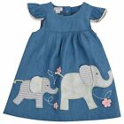 Mud Pie Elephant Chambray Dress Baby Toddler Girls 3M-5T # 1142201
