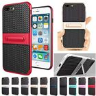 Hybrid Rugged Silicone Stand Shockproof PC+TPU Case Cover For iPhone 6 6S Plus