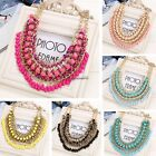 New Women Alloy Statement Knit Necklace Choker Bohemia Style Link Chain CaF802