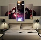 5 Panels Armored Avenger Painting Canvas Wall Art Home Decor.