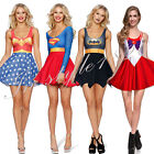 Sexy Woder Woman Dress Outfit Costumer Sailor Moon Plus Size S-4XL Halloween Hot
