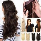 New Secret Invisible Hair Extension Wire Headband Natural Extensions Curly Black