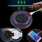 For Apple iPhone 6S 6 SE 5S Plus QI Wireless Charger Receiver + Pad Mat Dreamed