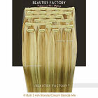 Beauties Factory 20 inch Clip in 100% Remy Human Hair Extension 100/150/200 gram