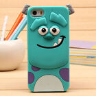 New Cute 3D Cartoon Animal doll Silicone Rubber Case Cover For iPhone 5 6s 7Plus