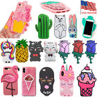iphone 5 3d covers - Iphone Case Cover Cute For 8 5S Silicone X 7 Rubber 6 New Doll Animal 3D Cartoon