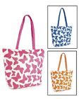 Ladies Girls Butterfly Shoulder Tote Summer Holiday Travel Beach Pool Hand Bag