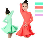 Brand new girls women ballroom grade performance dress latin dance costume skirt