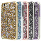 2 in 1 Bling Diamond PC TPU Case For iPhone 6 7 Plus Shockproof Protective Cover