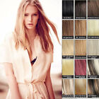 """20"""" Hair Band stealth Wire 100% Remy Real Human Hair Extensions Half Head 80g"""