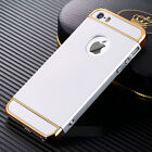Fashion Luxury Matte Case PC+Electroplating Cover For iPhone 5S 6 6S 7 7 Plus