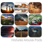 NATURE LAND FOREST WATERFALL EARTH VIEW CUSTOM MOUSE PAD MOUSEPAD  (LM-04)