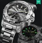 Yelang Men Military Automatic WatchTritium Swiss Mov't 25Jewels WR300M Diver