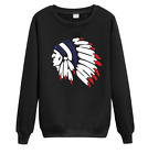 MENGD.G.O.S Hoodies Indians Decorate 3d Print Sweatshirt pullover jackets