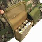 Tactical Military Ammo Shells Bullet Case Airsoft Pouch Bag Portable Hunting Bag