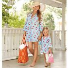 Mud Pie Mini Flamingo Cover-Up Dress Baby Little Girls  #1152063