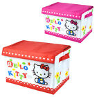 Lock & Lock Hello Kitty foldable fabric holder storage containers 25L / 2colors