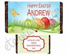 Personalised Large Chocolate Bar Wrapper Easter Designs 10 Designs