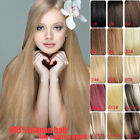 """170g  Full Head Clip In Hair Extensions 100% Remy Real Human Hair Extension 26"""""""