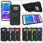 Exact Tank Shock Proof Rugged Dual-Layer Case W Kickstand for Samsung Galaxy S7