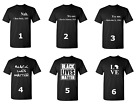 Black Lives Matter Shirt Civil Rights Justice Freedom T-Shirt Mix Designs Tee image