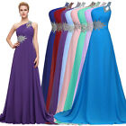 Women's Long Bridesmaid Gown Photo Fancy Maternity Dress EVENING Wedding Dresses