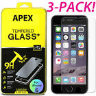 """3x Premium Real Tempered Glass Film Screen Protector for Apple 4.7"""" iPhone 6s"""