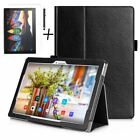 Luxury Case Cover, Tempered Glass & Stylus For Lenovo Tab 3 10.1 inch
