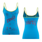 Zumba - PAINT SPLATTER Spaghetti Strap Tank Top size Large & XL  ~ Free Ship!