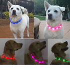 Waterproof Rechargeable USB LED Flashing Light Band Belt Safety Pets Dog Collar