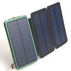 2000000mAh Solar Panel External Battery Charger Power Bank For Cell Phone Tablet